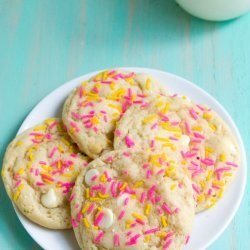 Crunchy Birthday Cookies