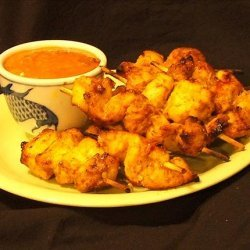Beef or Chicken Satay With Peanut Sauce