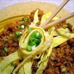My Version of Nasi Goreng (Indonesian Fried Rice)
