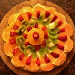 Festive Dessert Pizza