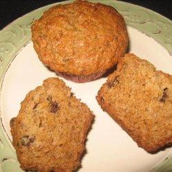 Honey Raisin Bran Muffins recipe