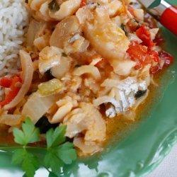 Fish Stew with Coconut (Moqueca)