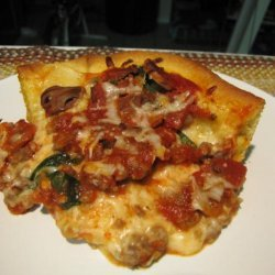 Deep-Dish Florentine Pizza