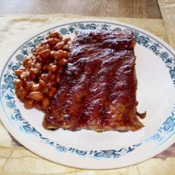 Slow - Cooker  baked  Beans