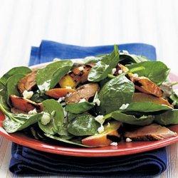 Pork Tenderloin Spinach Salad