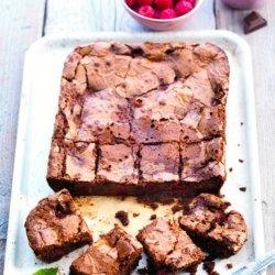 Easy Raspberry Brownies