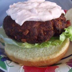 Tukey Burgers (Adapted from Bobby Flay's Turkey Kofte Recipe recipe