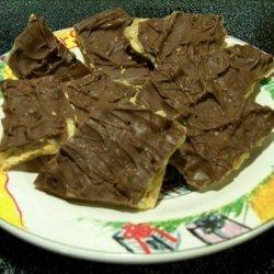 Chocolate Cracker Bars