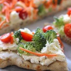 Vegetarian Veggie Pizza