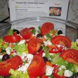 dressed Up  Greek-Style  Salad