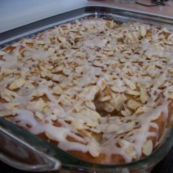 Easy Fruit Filled Coffee Cake