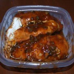 Crock Pot Spicy Boneless BBQ Chicken - Easy