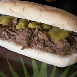 Bella's Crock Pot Italian Beef