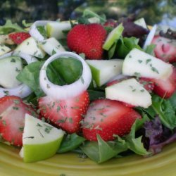 Weight Watchers Spinach and Fruit Salad recipe