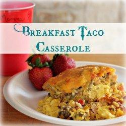 Breakfast Taco Casserole