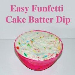 Cake Batter Dip