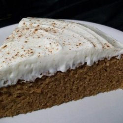 Indian Pudding Cake With Molasses Cream