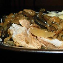 Mushroom Pork Tenderloin for Crock-Pot