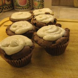 Chocolate Chai Spice Cupcakes