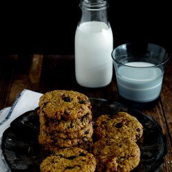 Blueberry Pecan Oatmeal Cookies