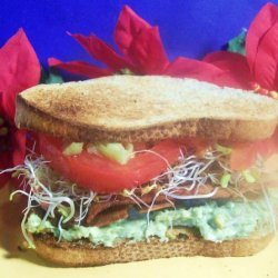 Veggiewiches With Avocado Spread