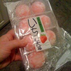 Ichigo Daifuku - Strawberry Mochi