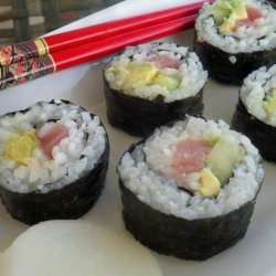 California Tuna Roll recipe