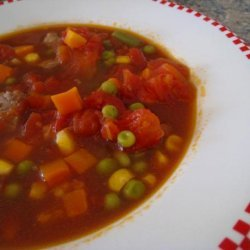 Mom's Homemade Vegetable Soup
