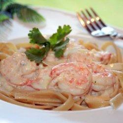 Garlic Shrimp Alfredo