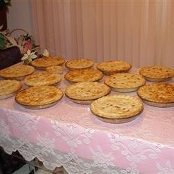 Traditional French Canadian Tourtiere
