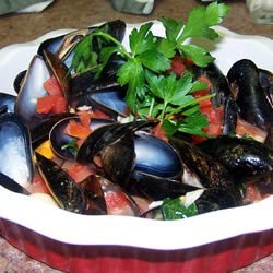 Steamed Mussels II