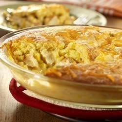 Cornbread Chicken Pot Pie recipe
