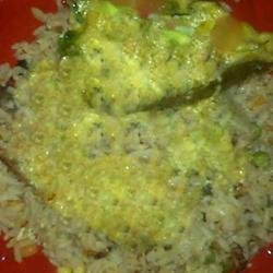 Garam Masala Seared Salmon with Coconut-Curry Butter recipe