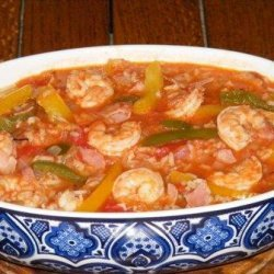 Jambalaya, With Thanks to Pol Martin