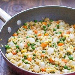 Ten-Vegetable Fried Brown Rice