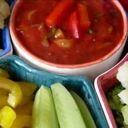 Mandy's Simple Salsa for Nachos