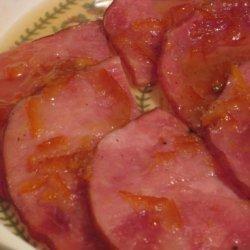 Ham Slice With Rum Marmalade