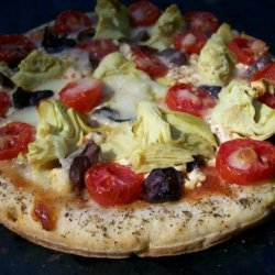 Greek Goddess Pizza
