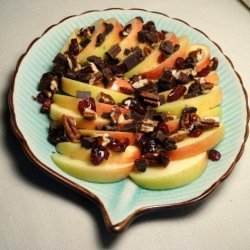 Apple-Chocolate Salad