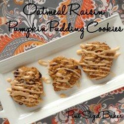 Oatmeal Raisin Cookie Pudding
