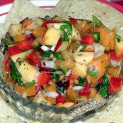 Apricot and Nectarine Salsa recipe