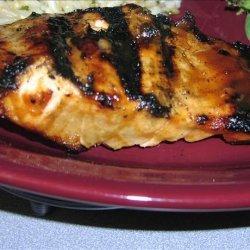 Glazed Grilled Salmon