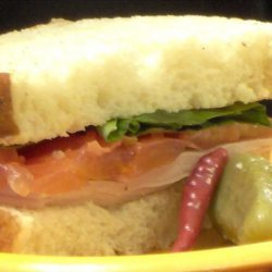 Summer's Smoked Turkey Sandwich recipe