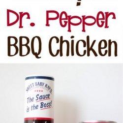 Dr. Pepper BBQ Chicken