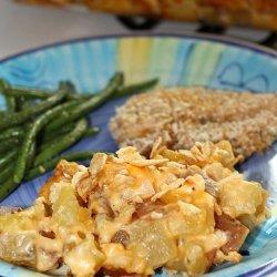 Chicken Artichoke Dip Casserole