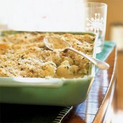 Cauliflower With Herbed Crumb Topping