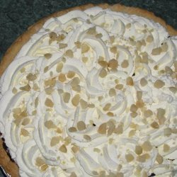 White Chocolate Macadamia Nut Pie