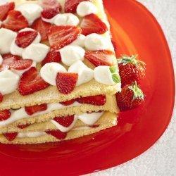 Strawberry Lasagna Dessert