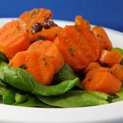 Carrot and Raisin Salad---Moroccan Style