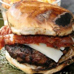 Mushroom Pizza Burgers recipe